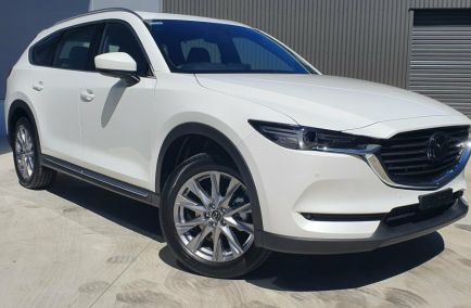New 2020 MAZDA CX-8 KG4W2A GT Wagon 7st 5dr SKYACTIV-Drive 6sp i-ACTIV AWD 584kg 2.2DTT