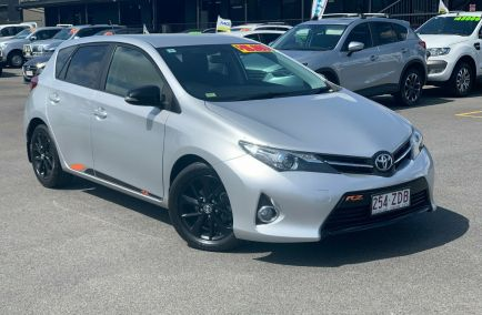 Used 2015 TOYOTA COROLLA ZRE182R Hatchback 5dr RZ S-CVT 7sp 1.8i