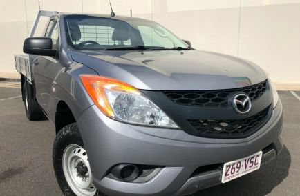 Used 2015 MAZDA BT-50 UP0YF1 Cab Chassis 2dr XT Single Cab Spts Auto 6sp 4x4 3.2DT 1380kg