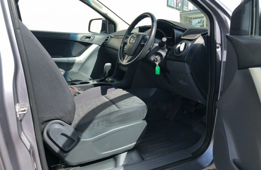 2015 MAZDA BT-50 XT  UP0YF1 Turbo CAB CHASSIS Single Cab