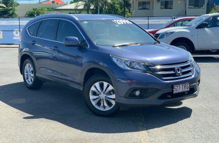 Used 2014 HONDA CR-V RM Wagon 5dr VTi-S Spts Auto 5sp 4WD 2.4i 520kg