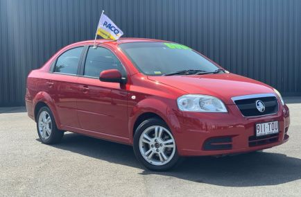 Used 2011 HOLDEN BARINA TK Sedan 4dr Auto 4sp 1.6i