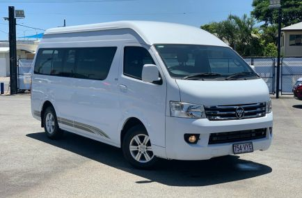 Used 2015 FOTON VIEW K1 MD2 Bus 4dr CS2 Royal Saloon High Roof 13st Man 5sp 2.8DT