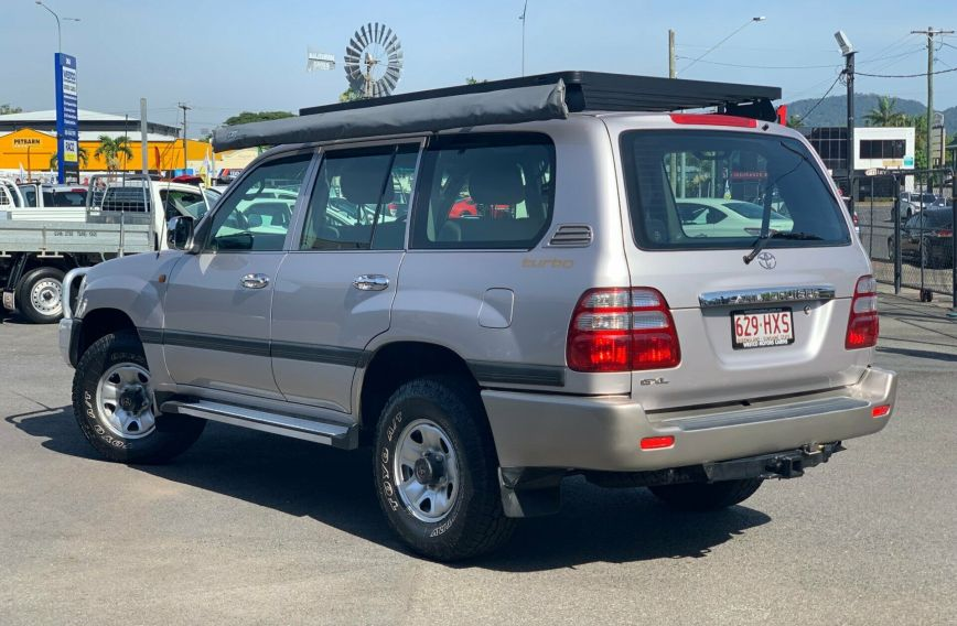 2004 TOYOTA LANDCRUISER GXL  HDJ100R Turbo Wagon