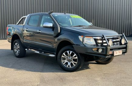 Used 2013 FORD RANGER PX Utility 4dr XLT Double Cab Man 6sp 4x4 3.2DT 1041kg