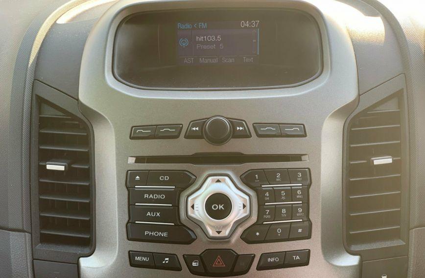 2013 FORD RANGER XLT  PX Turbo UTILITY Dual Cab