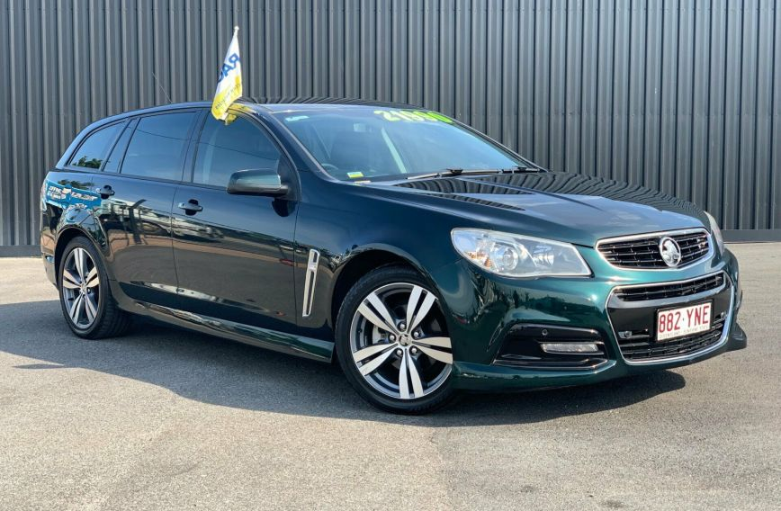 2014 HOLDEN COMMODORE SV6  VF  WAGON