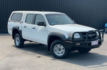 Used 2007 MAZDA BT-50 UNY0E3 Utility 4dr DX Dual Cab Man 5sp 4x4 3.0DT 1153kg