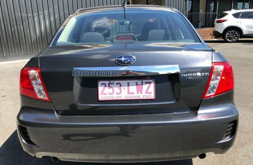 2009 SUBARU IMPREZA R  G3  SEDAN